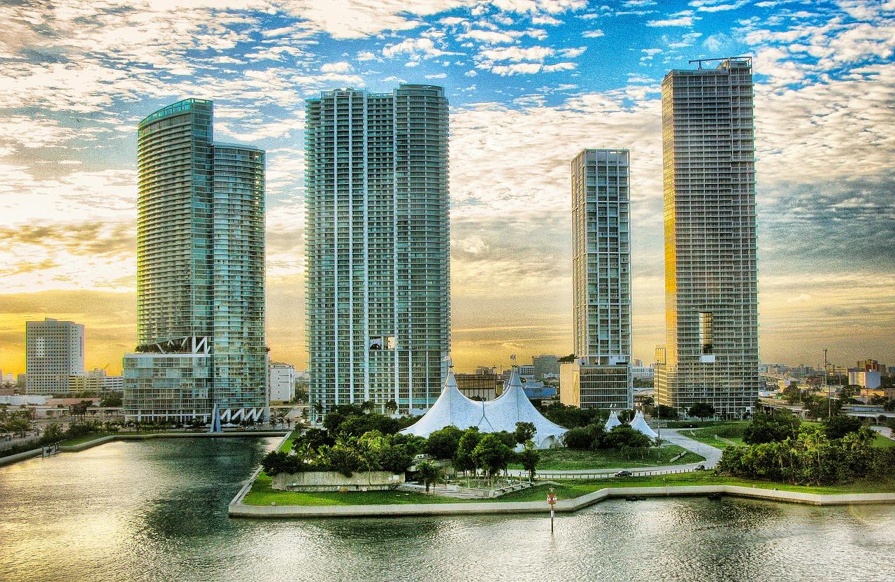 city, miami, architecture