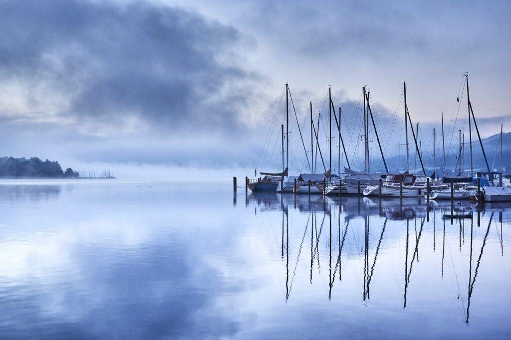 boat, port, pier